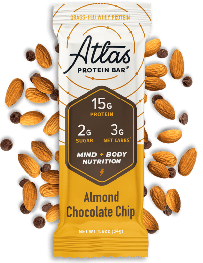 Atlas Bar Almond Chocolate Chip Ingredients