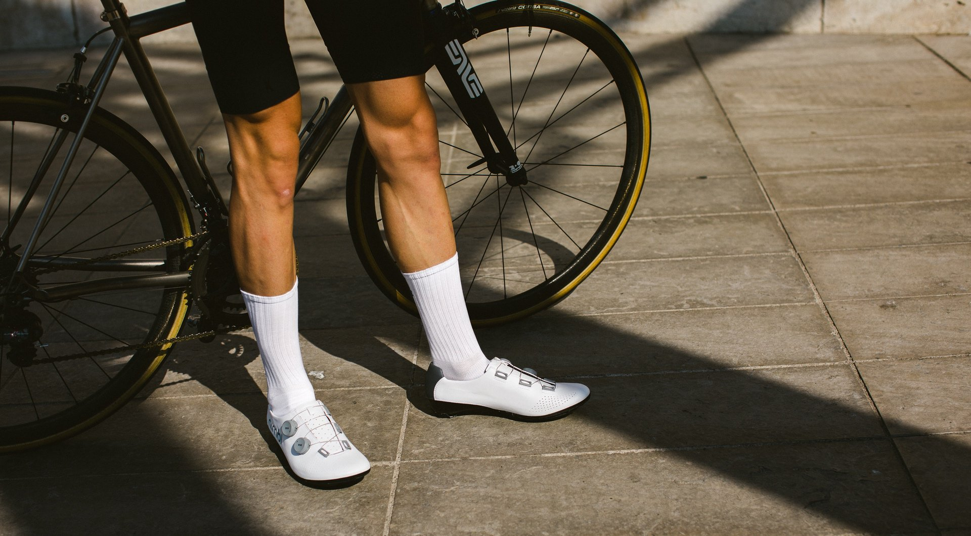 EXCEED Road Shoes / White - Grey